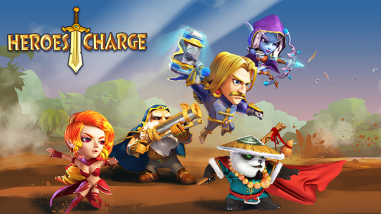 Want To Try The Hd Version Of Heroes Charge On Your Device?